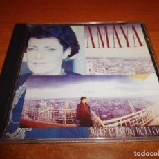 CDs de Música: AMAYA SOBRE EL LATIDO DE LA CIUDAD AMAYA URANGA CD ALBUM 1988 MOCEDADES 10 TEMAS RARO JOAQUIN SABINA. Lote 137437984