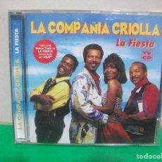 CDs de Música: LA COMPAÑIA CRIOLLA LA FIESTA CD ALBUM DEL AÑO 1997 ESPAÑA LA FIESTA VERSION REMIX ASAP 15 TEMAS. Lote 152234010