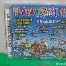 CDs de Música: PLAYA TOTAL 11 - VARIOS CD NUEVO ¡¡¡ PEPETO. Lote 152234334