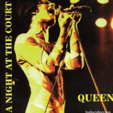 CDs de Música: QUEEN - A NIGHT AT THE COURT - 2 CDS - REBAJADO!!!. Lote 152235914