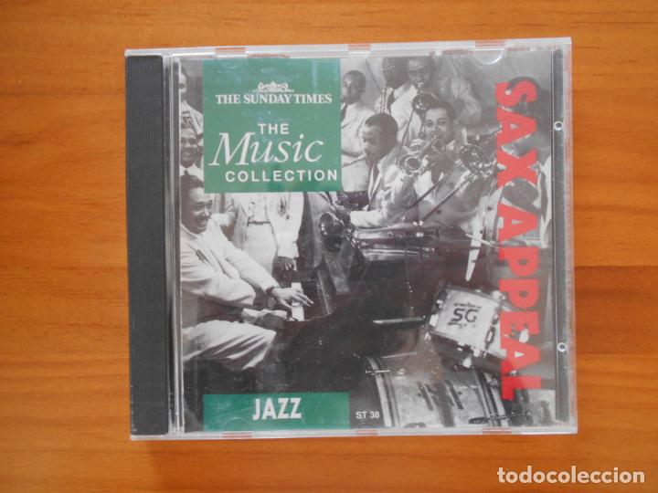 CD SAX APPEAL - JAZZ - THE MUSIC COLLECTION (3I) (Música - CD's Jazz, Blues, Soul y Gospel)