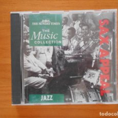 CDs de Música: CD SAX APPEAL - JAZZ - THE MUSIC COLLECTION (3I). Lote 152248134