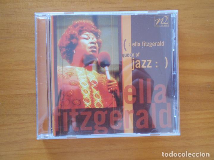 CD ELLA FITZGERALD - QUEEN OF JAZZ (2U) (Música - CD's Jazz, Blues, Soul y Gospel)