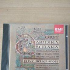 CDs de Música: CARMINA BURANA. Lote 200035457