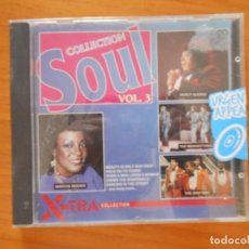 CDs de Música: CD SOUL COLLECTION VOL. 3 - MARTHA REEVES, PERCY SLEDGE, THE DRIFTERS... (3T). Lote 152252758