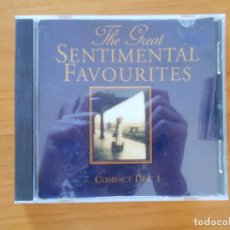 CDs de Música: CD THE GREAT SENTIMENTAL FAVOURITES DISC 1 (C8). Lote 152253858