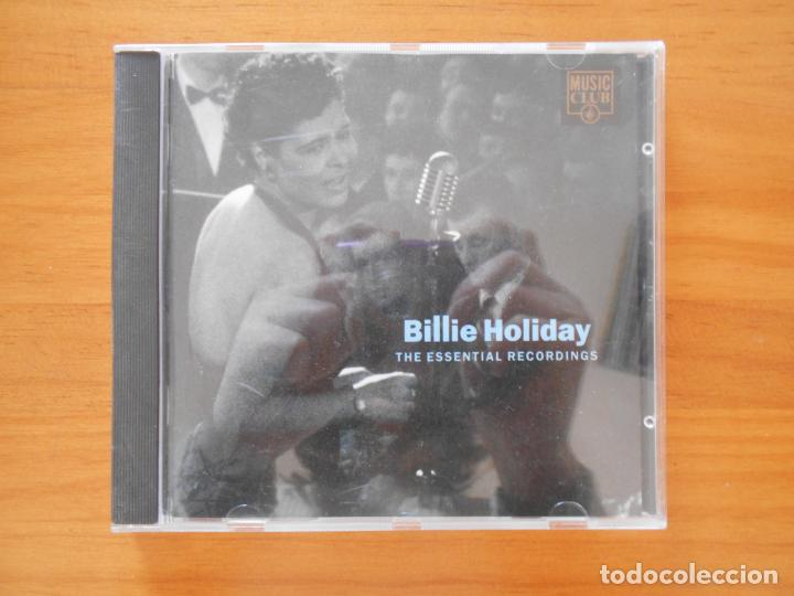 CD BILLIE HOLIDAY - THE ESSENTIAL RECORDINGS (C8) (Música - CD's Jazz, Blues, Soul y Gospel)