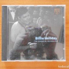 CDs de Música: CD BILLIE HOLIDAY - THE ESSENTIAL RECORDINGS (C8). Lote 152254242