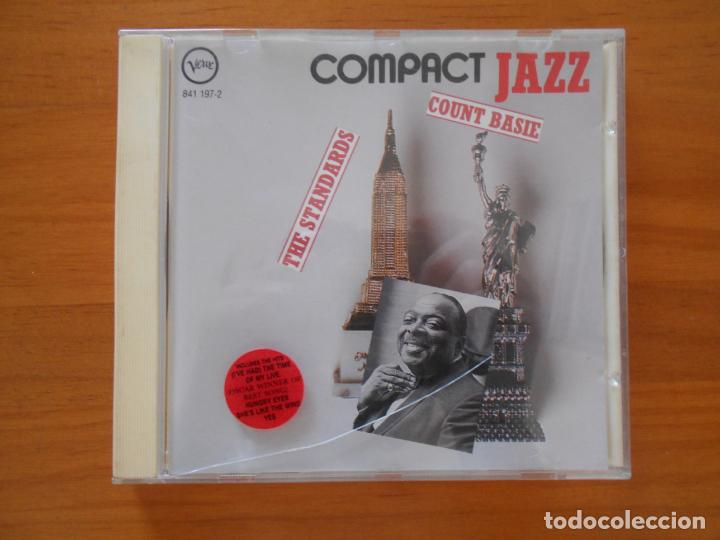 CD COUNT BASIE / THE STANDARDS - COMPACT JAZZ (C8) (Música - CD's Jazz, Blues, Soul y Gospel)