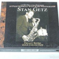 CDs de Música: GOLD COLLECTION DEJAVU RETRO STAN GETZ 2X CD. Lote 152259050