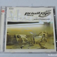 CDs de Música: PRIVILEGE IBIZA WORLD'S BIGGEST CLUB CD. Lote 152269542