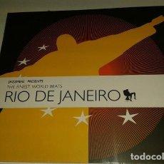 CDs de Música: JAZZMINE PRESENTS THE FINEST WORLD BEATS RIO DE JANEIRO - CD DIGIPACK. Lote 152287762