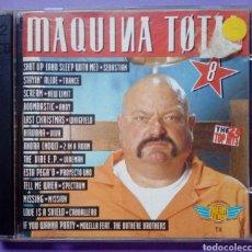 CDs de Música: MÁQUINA TOTAL 8 - DOBLE CD. Lote 152288376