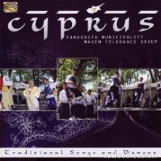 CDs de Música: CYPRUS - TRADITIONAL SONGS AND DANCES - CD . Lote 152290710