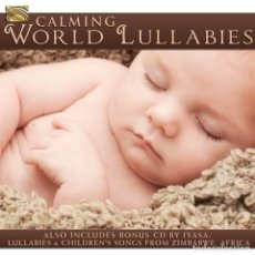 CDs de Música: CALMING WORLD LULLABIES - 2XCD. Lote 152291434