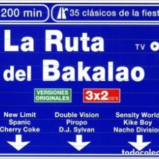 CDs de Música: RUTA DEL BAKALAO: 3 × CD VALE MUSIC SPAIN 1999. Lote 152295218