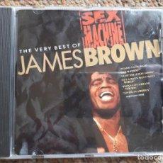 CDs de Música: JAMES BROWN , THE VERY BEST OF , SEX MACHINE , CD 1991 . Lote 152295738