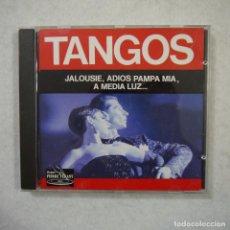 CDs de Música: RADIO DANCING ORCHESTRA - TANGOS: JALOUSIE, ADIOS PAMPA MIA, A MEDIA LUZ… - CD 1991. Lote 152301390