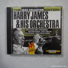 CDs de Música: THE JAZZ COLLECTOR EDITION. HARRY JAMES & HIS ORCHESTRA - CD 1991 . Lote 152302866