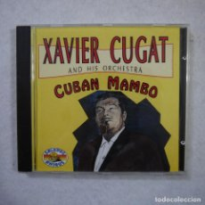 CDs de Música: XAVIER CUGAT AND HIS ORCHESTRA - CUBAN MAMBO - CD 1992 . Lote 152304906