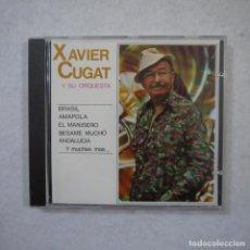 CDs de Música: XAVIER CUGAT Y SU ORQUESTA - BRASIL, AMAPOLA, EL MANISERO… - CD 1990 . Lote 152305238