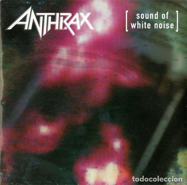 ANTHRAX – SOUND OF WHITE NOISE (Música - CD's Heavy Metal)