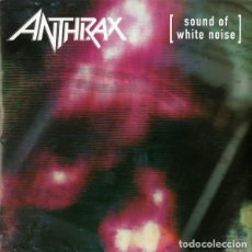 CDs de Música: ANTHRAX ‎– SOUND OF WHITE NOISE . Lote 152319438