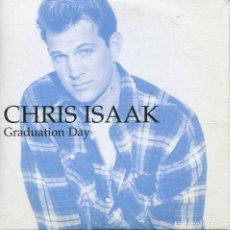 CDs de Música: CHRIS ISAAK / GRADUATION DAY / FOREVER BLUE (CD SINGLE CARTON PROMO 1995). Lote 152320186