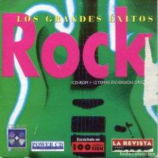 CDs de Música: LOS GRANDES EXITOS DEL ROCK (CD CARTON PROMO CON 13 TEMAS). Lote 152322610