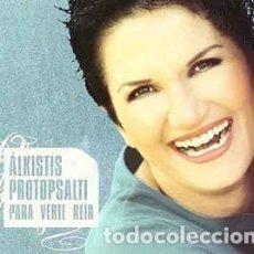 CDs de Música: CD-ÁLKISTIS PROTOPSALTI/ PARA VERTE REIR (NUEVO PRECINTADO). Lote 152329306