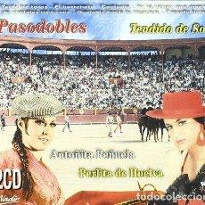 CDs de Música: CD-ANTOÑITA PEÑUELA, PERLITA DE HUELVA/ PASODOBLES TENDIDO DE SOL -2CD- (NUEVO PRECINTADO). Lote 152336010
