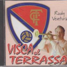 CDs de Música: RUDY VENTURA CD VISCA EL TERRASSA 1998 FÚTBOL CLUB TERRASSA. Lote 152339770
