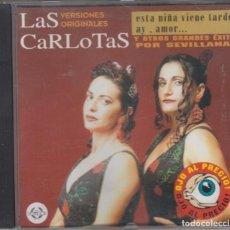 CDs de Música: LAS CARLOTAS CD SELECCIÓN DE GRANDES ÉXITOS 1998. Lote 152340670