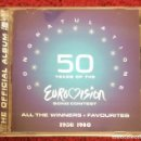 CDs de Música: CONGRATULATIONS: 50 YEARS OF THE EUROVISION (ALL THE WINNERS + FAVOURITES 1956 - 1980) 2 CD'S 2005. Lote 152352302