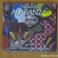 CDs de Música: TASABIH ALABANZA - SABER ABDELSATTAR: QANUN - CD. Lote 152358269