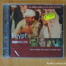 CDs de Música: VARIOS - CAIRO TO NUBIA: THE SOURCE OF ARABIC MUSIC / THE ROUGH GUIDE TO THE MUSIC OF EGYPT - CD. Lote 152358744
