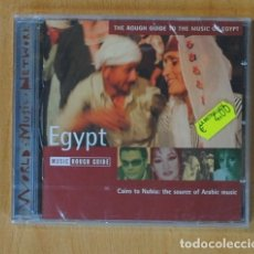 CDs de Música: VARIOS - CAIRO TO NUBIA: THE SOURCE OF ARABIC MUSIC / THE ROUGH GUIDE TO THE MUSIC OF EGYPT - CD. Lote 152358786