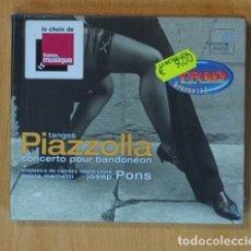 CDs de Música: PABLO MAINETTI / JOSEP PONS - TANGOS PIAZZOLLA - CD. Lote 152359469