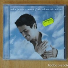 CDs de Música: ALEJANDRO SANZ - EL ALMA AL AIRE - CD. Lote 152361072