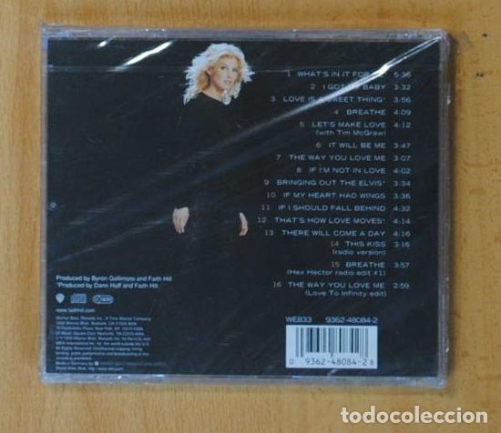 CDs de Música: FAITH HILL - BREATHE - CD - Foto 2 - 152362138