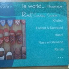 CDs de Música: LE WORLD... MAGHREB (DIGIPACK. FRANCIA, 2000). Lote 152369342