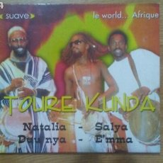 CDs de Música: LE WORLD... AFRIQUE - TOURE KUNDA (DIGIPACK. EU, 2001). Lote 152369932