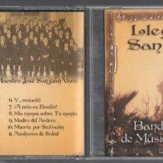 CDs de Música: LLEGANDO A SAN PAULINO - BANDA MUNICIPAL DE MUSICA DE BARBATE / CD EN BUEN ESTADO , RF-1294. Lote 152384614