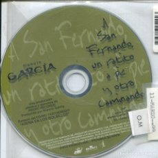 CDs de Música: MANOLO GARCIA / A SAN FERNANDO, UN RATITO A PIE Y OTRO ANDANDO (CD SINGLE PICTURE PROMO 1998). Lote 152390946