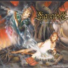 CDs de Música: SAUROM : LEGADO DE JUGLARES + SINFONIAS DE LOS BOSQUES - DOBLE CD DIGIPACK ORIGINAL ESPAÑA 2006 . Lote 152391262