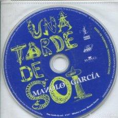 CDs de Música: MANOLO GARCIA / UNA TARDE DE SOL (CD SINGLE PICTURE PROMO 2004). Lote 152391354