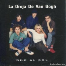 CDs de Música: LA OREJA DE VAN GOGH / DILE AL SOL (CD SINGLE CARTON PROMO 1999). Lote 152391834