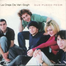 CDs de Música: LA OREJA DE VAN GOGH / QUE PUEDO PEDIR (CD SINGLE CARTON PROMO 1998). Lote 152391898