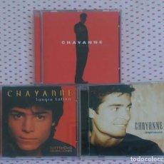 CDs de Música: LOTE 3 CD'S CHAYANNE - * VER FOTOS. Lote 152406742