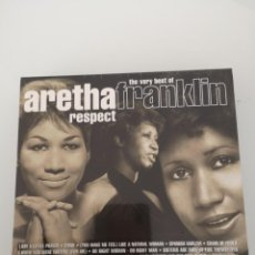 CDs de Música: ARETHA FRANKLIN RESPECT DOBLE CD THE VERY BEST OF NUEVO PRECINTADO . Lote 152428078